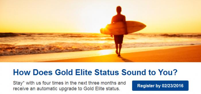 Marriott Rewards Gold Fast Track Offer Targeted 2016