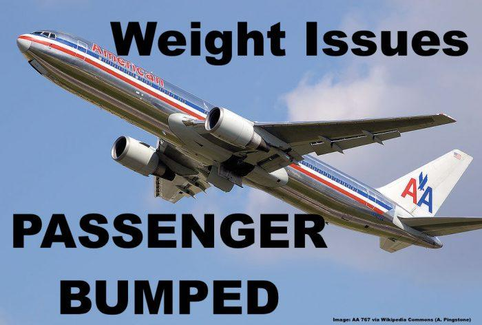 AA Weight Issues