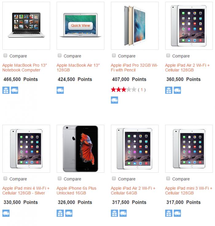 IHG Merchandise Rewards Apple 2