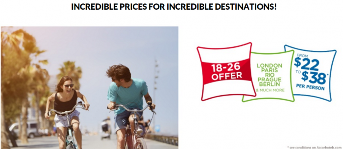 Le Club AccorHotels Ibis FIxed Price Offer Summer 2016