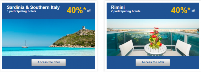 Le Club AccorHotels Weekly Private Sales March 29 - April 4 2016 Italy 2