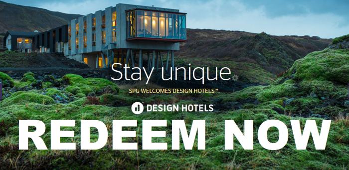SPG Design Hotels Awards