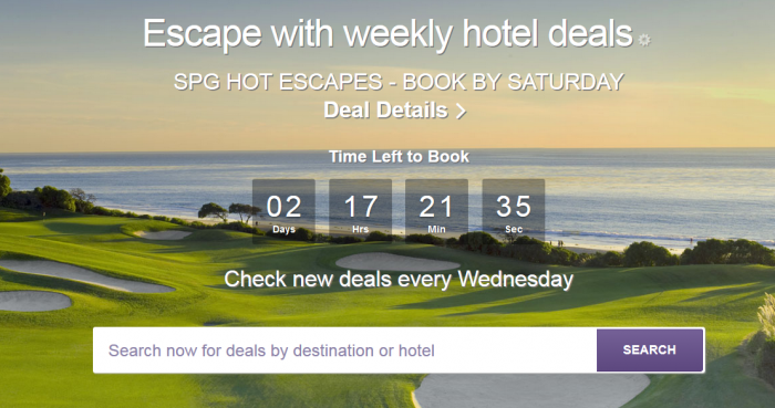 SPG Hot Escapes March 9