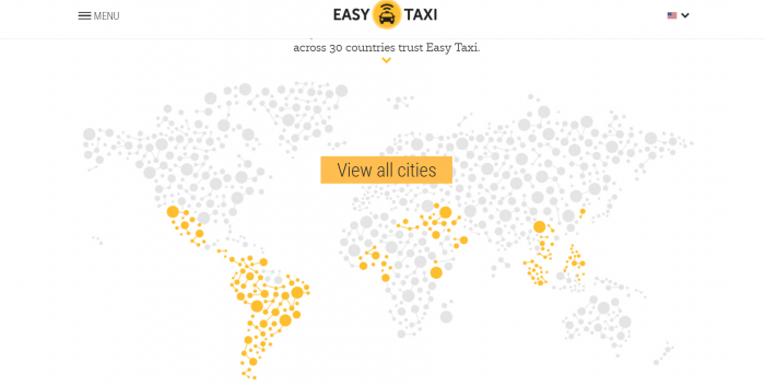 EasyTaxi Map