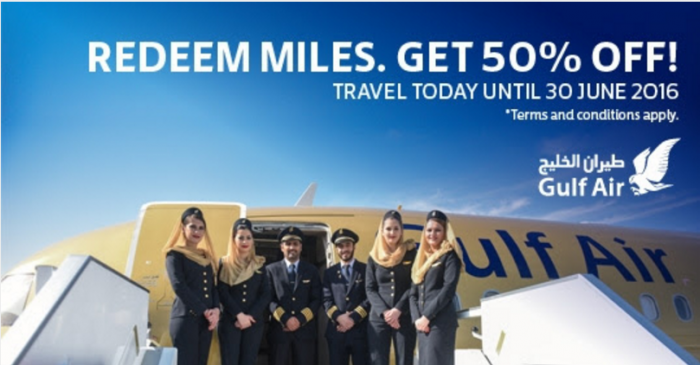 Gulf Air Falcon Flyer Redemption Campaign