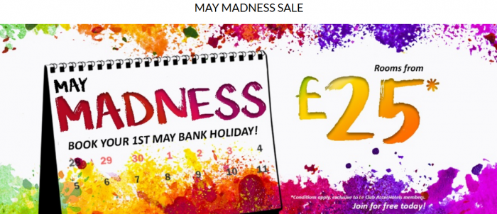 Le Club AccorHotels May Madness Sale UK & Ireland