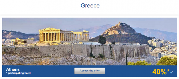 Le Club AccorHotels Weekly Private Sales April 12 - 18 2016 Greece 1