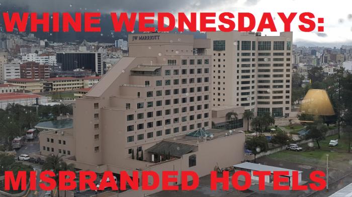 Misbranded Hotels