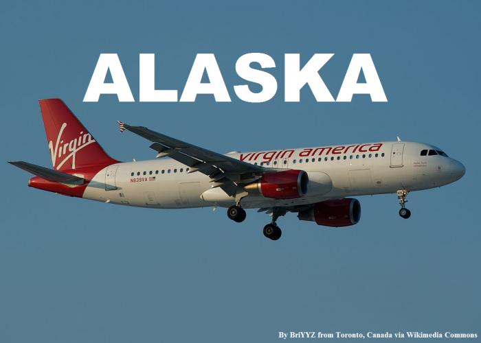 Virgin America Alaska