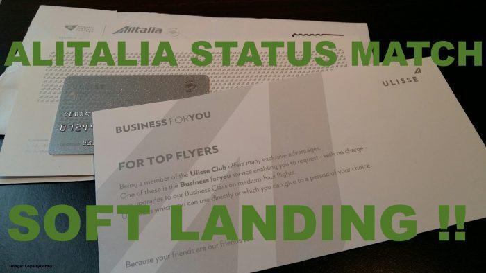 Alitalia Soft Landing