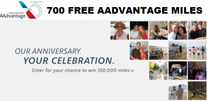 American Airlines AAdvantage 35th Anniversary