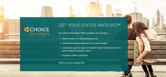 Choice Privileges Status Match