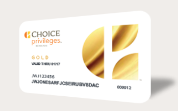 Choice Privileges Status Match Gold