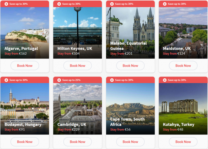 Hilton HHonors Europe Middle East & Africa Up To 30 Percent Off Summer Sales Tiles 4