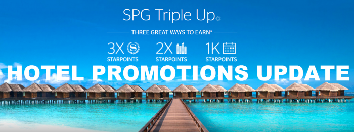 Hotel Promotions Update May 2016