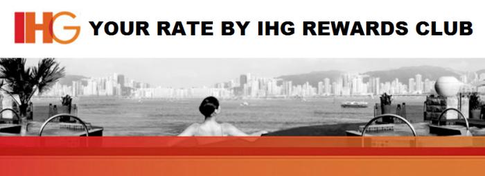 IHG Rewards Club Your Rate By IHG Rewards
