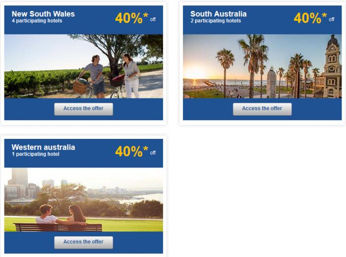 Le Club AccorHotels Australasia Up To 50 Percent Off Private Sales Australia 2