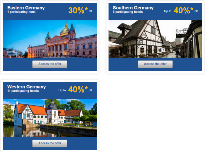 Le Club AccorHotels Europe Up To 50 Percent Off Priavet Sales May 3 - 9 2016 Germany 2