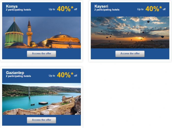 Le Club AccorHotels Europe Up To 50 Percent Off Priavet Sales May 3 - 9 2016 Turkey 2