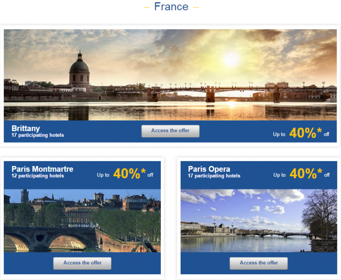 Le Club AccorHotels Europe Up To 50 Percent Off Private Sales May 10 - 16 2016 France 1