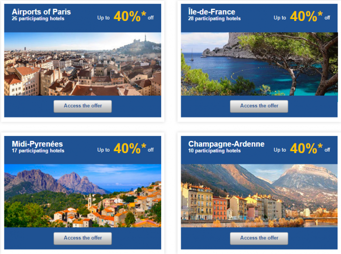 Le Club AccorHotels Europe Up To 50 Percent Off Private Sales May 10 - 16 2016 France 2