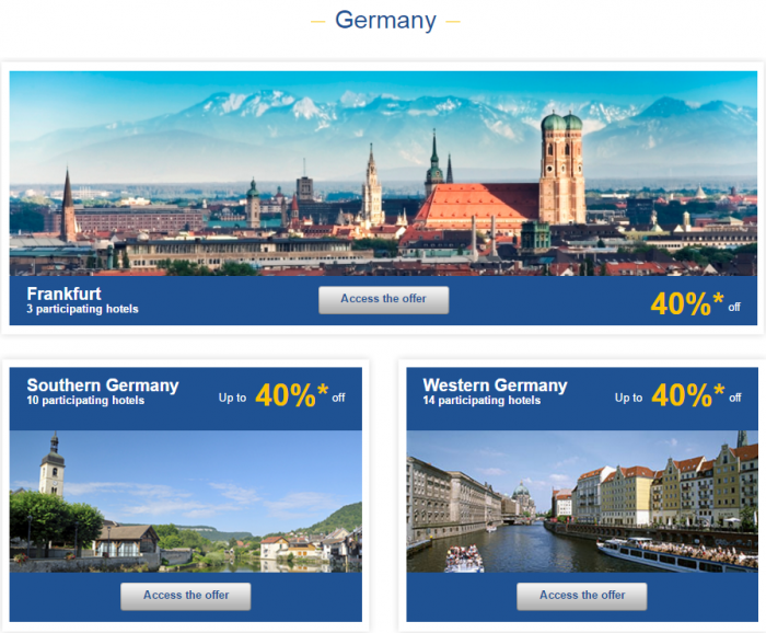 Le Club AccorHotels Europe Up To 50 Percent Off Private Sales May 10 - 16 2016 Germany 1