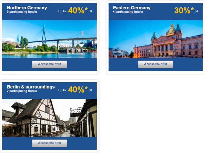 Le Club AccorHotels Europe Up To 50 Percent Off Private Sales May 10 - 16 2016 Germany 2