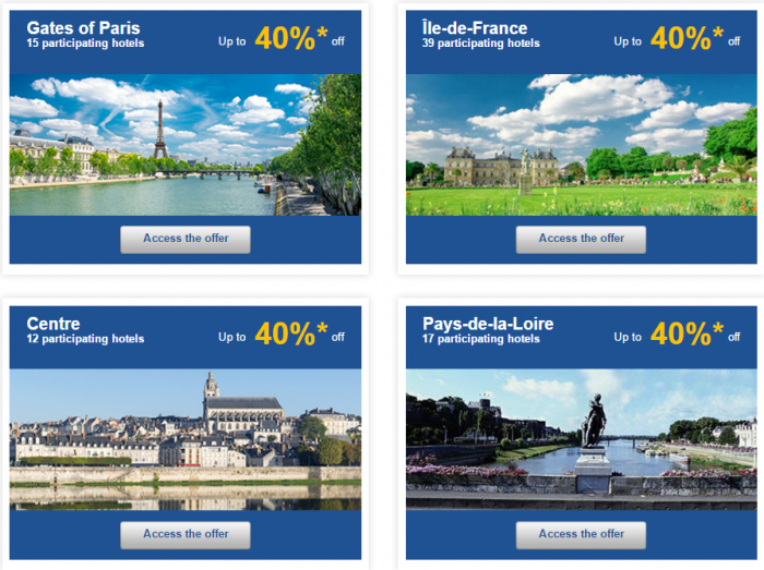 Le Club AccorHotels Europe Up To 50 Percent Off Private Sales May 17 - 23 2016 France 2