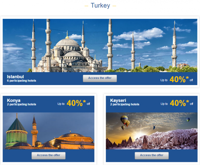 Le Club AccorHotels Europe Up To 50 Percent Off Private Sales May 24 - 30 2016 Turkey 1