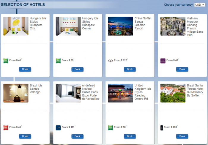 Le Club AccorHotels Select New Hotels Quadruple Points May 1 - June 30 2016 Some