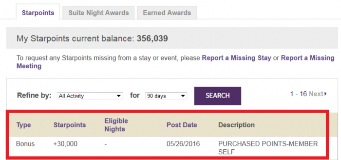 Starwood Preferred Guest Buy Starpoints Up To 35 Percent Off Until June 3 2016 Post