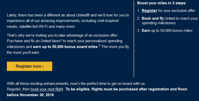 United Airlines MileagePlus Change Is In The Air Email Body