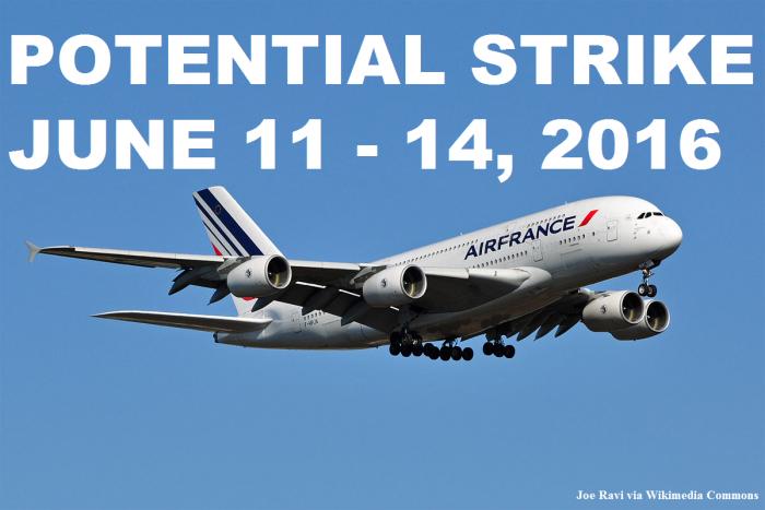 Air France Potential Strike
