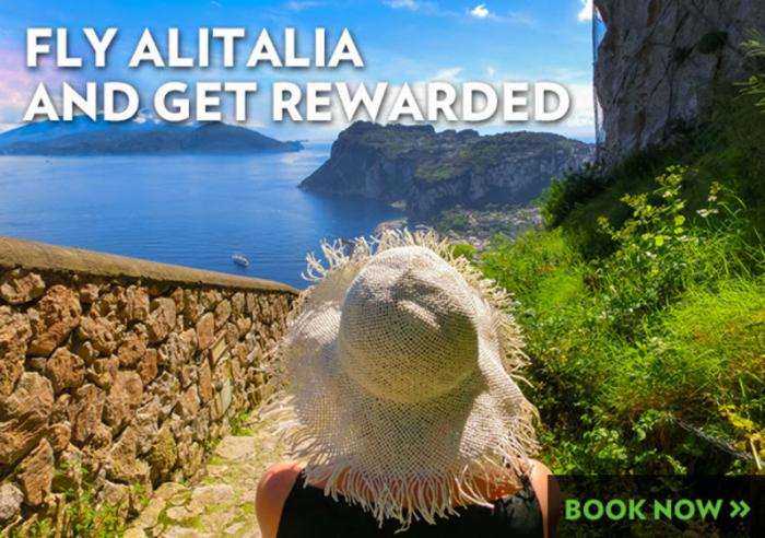 Alitalia MilleMiglia 25000 Bonus Miles Offer