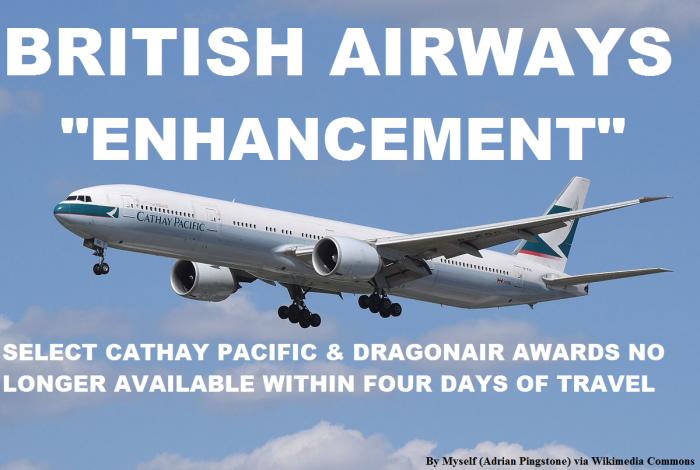 British Airways Cathay Pacific
