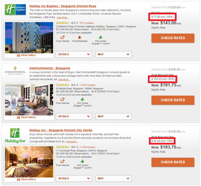 IHG Rewards Club Travel Agent & Professional Rate Singapore 1