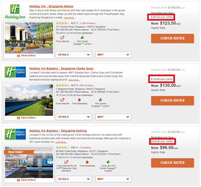 IHG Rewards Club Travel Agent & Professional Rate Singapore 2
