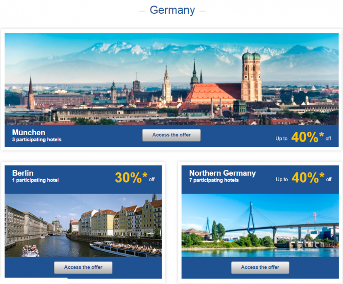 Le CLub AccorHotels Weekly Europe Up To 50 Percent Off Private Sales May 31 - June 6 2016 Germany 1