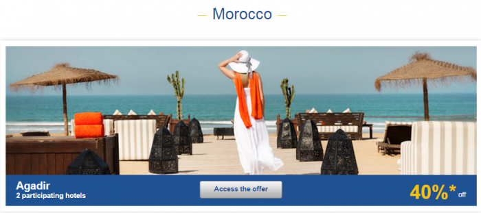 Le CLub AccorHotels Weekly Europe Up To 50 Percent Off Private Sales May 31 - June 6 2016 Morocco 1