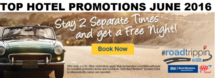 Top Hotel Promotions June 2016