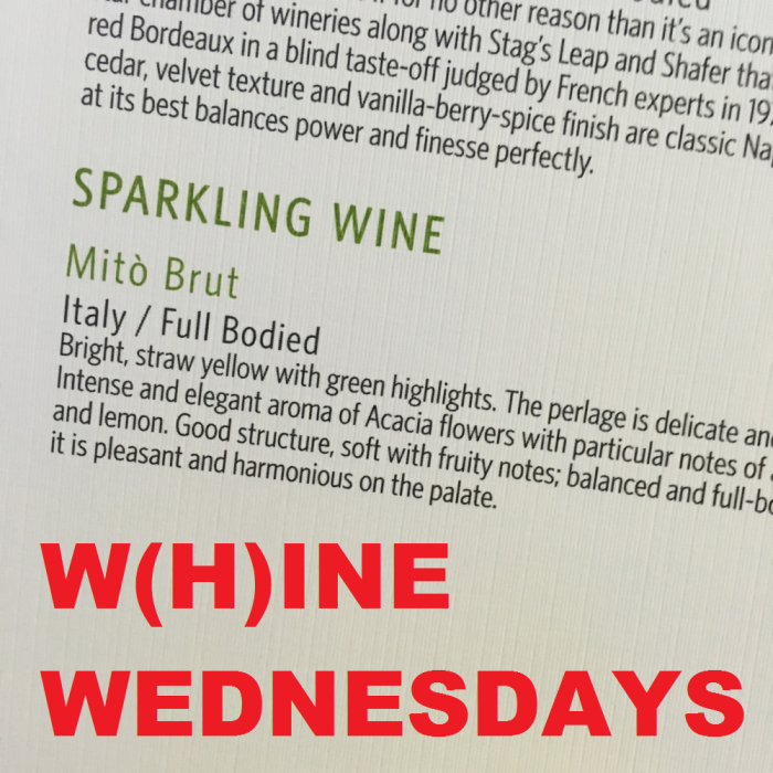 Sparkling (Whine) Wednesdays: Airlines Misrepresenting Sparkling Wine As Champagne A LoyaltyLobby reader dropped me an email last week about prevalent issue that affects quite a few airline FAs among all the alliances that continue to refer sparkling wine as champagne. Some airlines are too cheap to pay for the TAX/VAT and/or duty to serve champagne on the ground as a predeparture beverage (bonded inventory cannot be opened before door is closed) but still continue to call the stuff champagne. Here's the email from the reader: Why do flight attendants continually call it 'Champagne' when the label says nothing of the sort. In the case of the Delta One domestic (transcons) selection it's actually a decent Italian sparkling, but legally it's hardy Champagne. Nor does calling it Champagne help with setting brand expectations. Conclusion This is not just an issue with the US airlines, although some of them tried to have some sparkling wine (Iron Horse – cannot make this one up) stuff even on international business. There is nothing wrong serving sparkling wines, some better than cheapest champagnes, on business class but flight attendants shouldn't continuously misrepresent the product. As far as I can remember from my recent flights, both Iberia and Alitalia serve domestic sparkling wines on their business class. Although LAN (now LATAM) is based in Chile (important wine country), they serve French champagne.