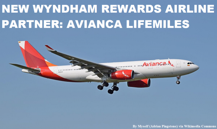 Wyndham Rewards Avianca LifeMiles Partnership