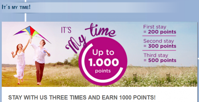 Le Club AccorHotels Spain & Portugal Up To 1,000 Bonus Points August 11 - November 30 2016