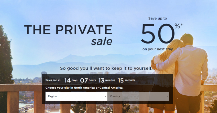 Le Club AccorHotels Worldwide Up To 50 Percent Off Private Sales