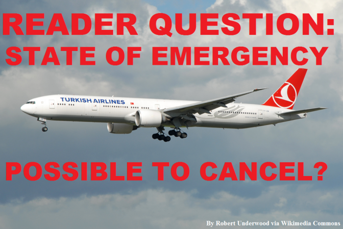 Reader Question Turkish Airlines