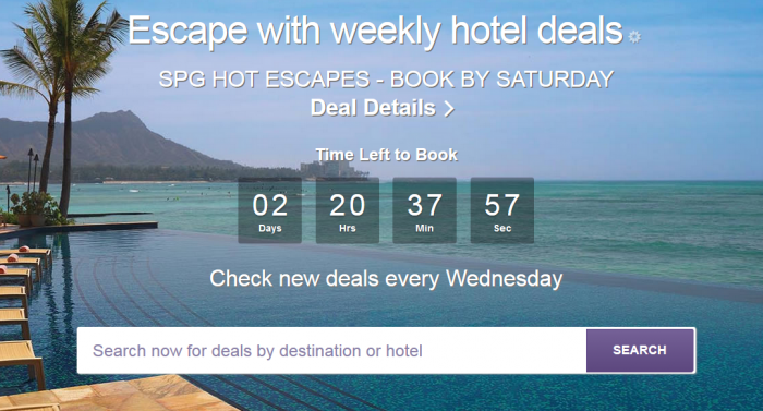 SPG Hot Escapes July 20 2016