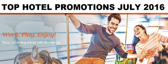 Top Hotel Promotions July 2016