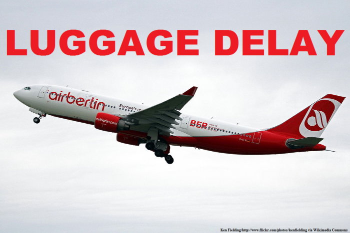 Airberlin Luggage Delay