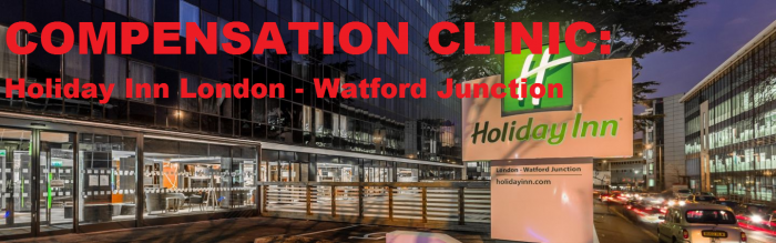 Compensation Clinic Holiday Inn London - Watford Junction Parking Fine