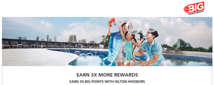 Hilton HHonors AirAsia Big Triple Points July 1 - September 2016